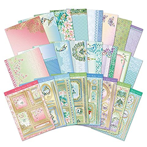 Hunkydory Paradise Jewels Topper Collection-8 A4 Topper Sets