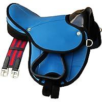 Pony Shetland Sattel Little Billy Blu scuro Sattel Set per pony o Shetty o legno Cavallo /Colore completo set anche per legno cavallo/