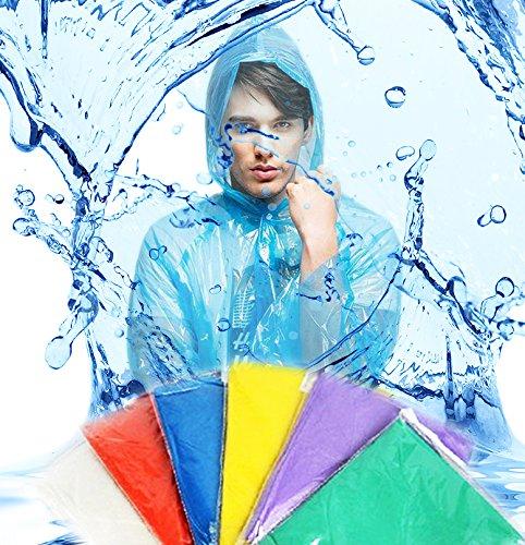 Regenponcho Poncho Einweg Multipack Regenschutz 20er Set