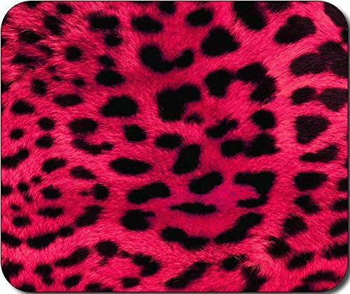 Pink Cheetah Animal Print Large Mousepad Mouse Pad Great Gift Idea -
