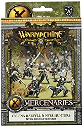 Privateer Press Warmachine - Mercenary: Cylena Raefyll & Nyss Hunters Model Kit