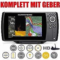 Handheld LCD Display Meer wiederaufladbar Sensor Tiefe Smart Fishfinder f/ür See Fischmenge und Gr/ö/ße tragbarer Sonar-Sensor Fischattraktor STARE89 Kabelloser Angelfinder