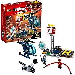 Lego Juniors / 4 + Gli incredibili sul tetto perseguimento kit 10759 edificio 2 di Elastigirl (95 pezzi)