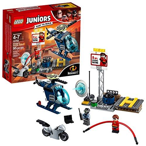 LEGO Junioren / 4 + Die Unglaublichen 2 Elastigirl Dem Dach Verfolgung 10759 Baukastens (95 Stück)