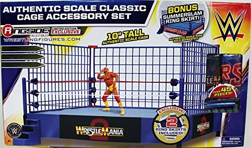 wwe-classic-blue-authentic-scale-steel-cage-playset-ringside-collectibles-exclusive-wicked-cool-toys