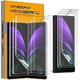 NEWZEROL 3 Sets Compatibel voor Samsung Galaxy Z Fold 2 5G Screen Protector [In-screen vingerafdrukherkenning] [Volledige dek