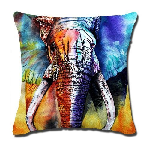 ytl-wild-animal-linen-burlap-cushion-cover-pillow-case-elephant-cozy-fashion-by-izook