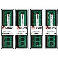 QUMOX Memoria Dimm 16GB(4x 4GB) DDR3 1333 PC3-10600 (240 Pines) para computadora escritorio PC