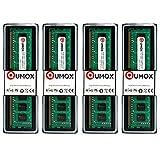 QUMOX 16GB(4X 4GB) DDR3 1333 PC3-10600 (240 PIN) DIMM-Speicher