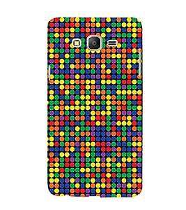 HiFi Designer Phone Back Case Cover Samsung Galaxy On7 G600Fy :: Samsung Galaxy Wide G600S :: Samsung Galaxy On 7 (2015) ( Colorful Dot Pattern Design )