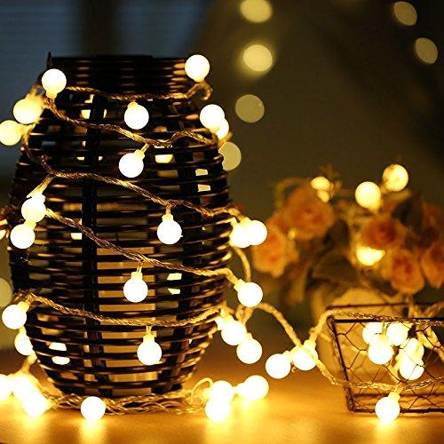 uping string light 100 globe balls fairy lights of 12m dc 31v low voltage