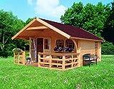 Karibu Gartenhaus Doderic 3 Sparset 40 mm