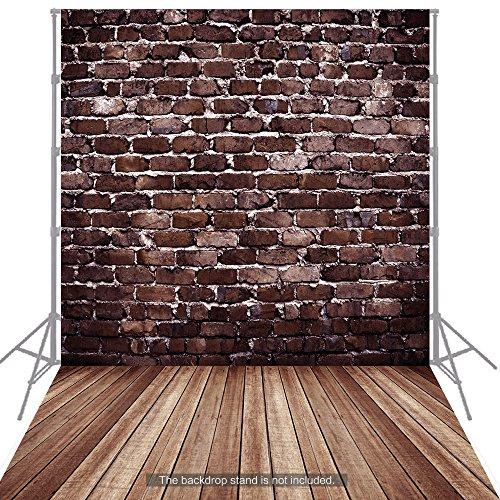 Andoer 1.5 * 2m Fondo Fotografía Clásico de Moda Suelo de Madera para Estudio Fotógrafo Profesional (K)