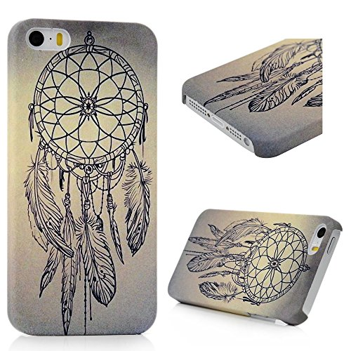 iPhone SE/5S/5 Custodia Cover Bumper PC Case, YOKIRIN Dipinto Albero