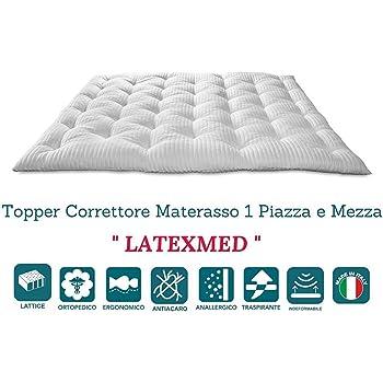 Materasso In Lattice 1 Piazza E Mezza.Evergreenweb Correttore Materasso In Lattice Una Piazza E Mezza