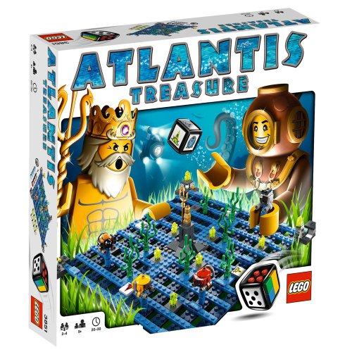 Preisvergleich Produktbild Lego Spiele 3851 - Atlantis Treasure