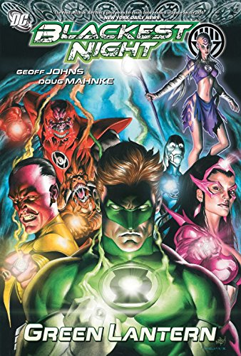 Blackest Night Green Lantern TP por Geoff Johns