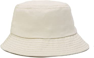 Westeng Unisex Hut Fischerhut Mode Sonnenhut in Baumwolle Faltbarer Anti-UV-Schutz Outdoor Hüte