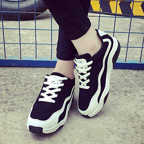 Art- und Weisesport-Schuhe Frühling / Sommer / Herbst Dame-helle Farben-flache Lace-up Schuhe drei Farben für das Wählen White