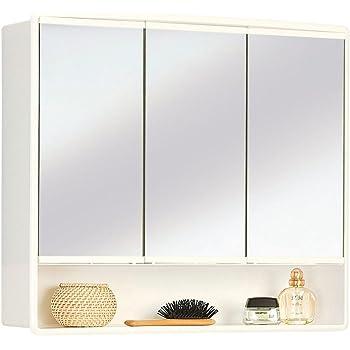 JOKEY armoire à glace Lymo - Largeur 59 cm - blanc - miroir de salle ...