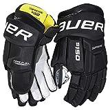 Bauer Supreme S150 Handschuhe Junior, Größe:10 Zoll;Farbe:schwarz/weiß