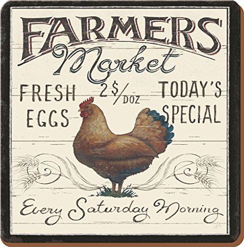creative-tops-farmers-market-cockerel-traditional-cork-backed-coasters-drinks-mats-set-of-6-multi-co