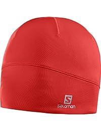 Salomon Active - Gorro para mujer, color rojo, talla única