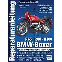 BMW Boxer R65, R80, R100: Zweiventil-Boxer mit Einarmschwinge von 1980 bis 1996 (Reparaturanleitungen)