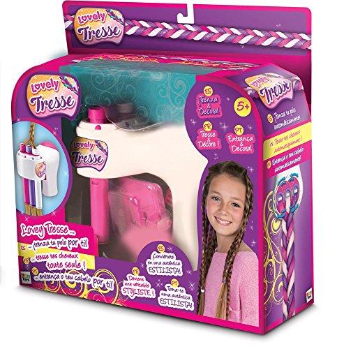 IMC Toys- 96073 Jeu Lovely Tresse - filles - Multicolore