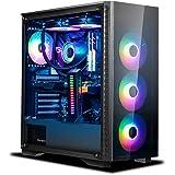 Hardital PC Gaming AMD Ryzen 5800X 8 Core 3.8-4.7GHz RAM 32GB SSD 1TB SVGA Nvidia GeForce RTX 3080 10GB WI FI BT Windows 10 P