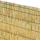 Biacchi Ettore SRL Clôture en bambou 1,5x 3 m