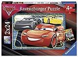 Ravensburger- Puzzle-Cars 3-2 x 24 Pièces, 07816