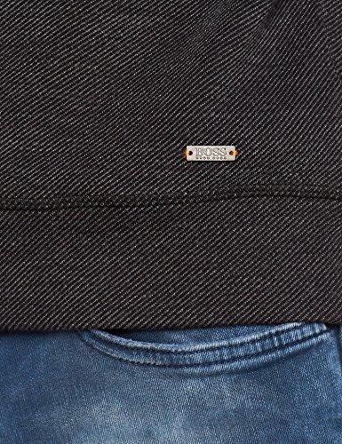 BOSS Orange Herren Sweatshirt Wanilla Schwarz (Black 001)