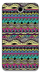 The Racoon Lean AZTEC MULTI-COLORED hard plastic printed back case / cover for Sony Xperia E4