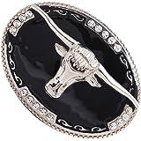 Hebilla de Cinturón de Vaquero Occidental para Hombres