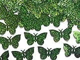 LoBeSo® Konfetti Schmetterling in grün 15 gr Tischdekoration Dekoration Party Schmetterlinge Feier Streudeko Deko Dekor Feier Partydeko Tischdeko Basteln