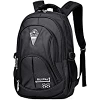 Boys Backpack School Bags Teenage - Kids Bookbags Nylon Lightweight Casual Laptop Daypack Ergonomic Large Capacity…