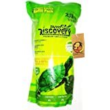Foodie Puppies Taiyo Pluss Discovery Premium Turtle Food with Free Key Ring (500g Refill Pouch)