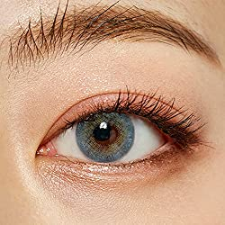 O-LENS Russian Velvet Blue - Coloured Contact Lens(Monthly)