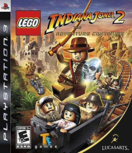 Lucasarts Entertainment Toys Lego Indiana Jones 2: The Adventure Continues For Sony Ps3 Picture