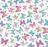 Flutterby Sweet Butterfly Candy 100% Baumwolle Vorhang