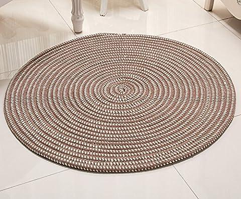 Tapis rond, série de corde Coussin de chaise d