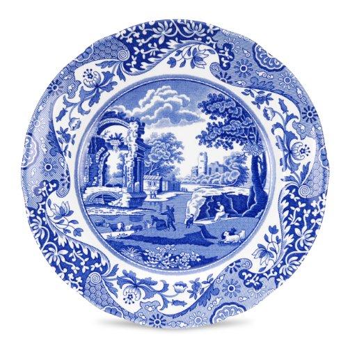 Spode 749151489653 Salatteller, 20,3 cm, Blau Spode 8 Zoll