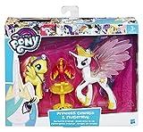 Hasbro B9849ES0 My Little Pony - Königliche Freunde Prinzessin Celestia, Spielset