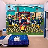 Walltastic Tapete Kinder Feuerwehrmann Sam 305x 244cm