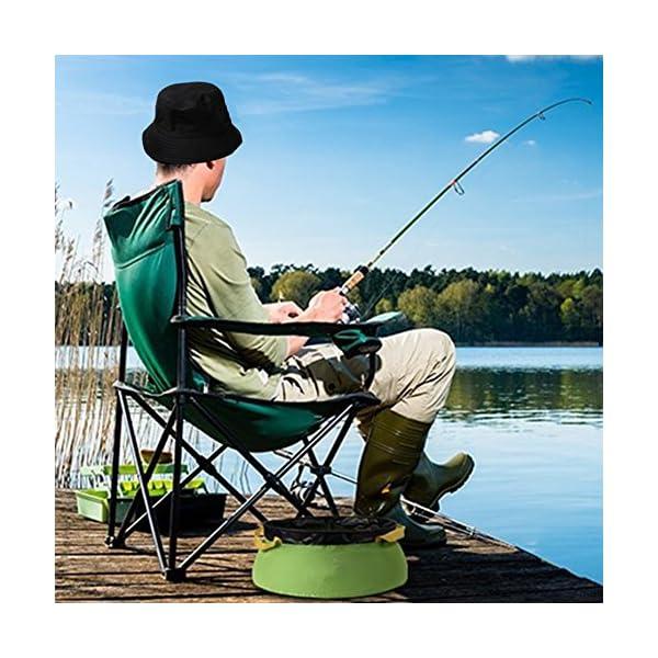 byou Cappello da Pesca,Cappello da Pescatore Unisex Tessuto Morbido in Cotone e Poliestere Protezione del Sole Boonie… 5 spesavip