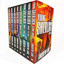 young sherlock holmes collection 8 books set by andrew lane (knife edge, death cloud, red leech, black ice, fire storm, snake bite, night break, stone cold)