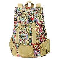 Vintage Canvas Backpacks Mens Rucksacks Casual Canvas Bags