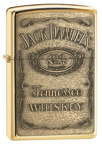 zippo-1350003-jack-daniels-label-brass-mechero-con-relieve