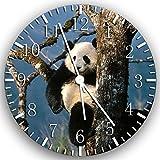 Panda Wanduhr 25,4cm Will Be Nice Gift und Raum Wand Decor Z51